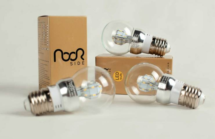 The Light-Emitting Diode (LED) is one of today's most energy-efficient lighting technologies - this is Noorside's LED lightbulb